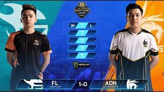 Team Flash vs Adonis Esports   FL vs ADN [Vòng 6 - 11.08] - ĐTDV Mùa Đông 2019