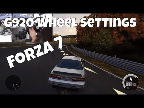 Newest updated wheel settings for drifting on forza 7