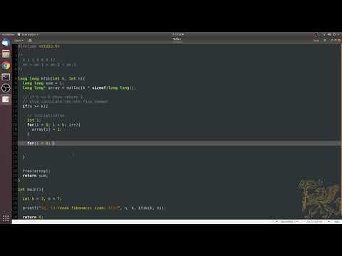 Fibonacci iteratív megoldás