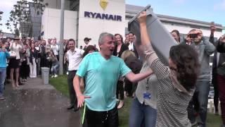 Ryanair Ice Bucket Challenge