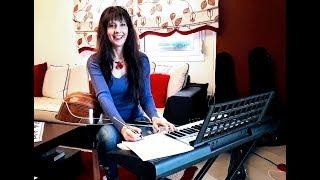 ΤΟ ΔΙΧΤΥ  πολυ αναλυτικο μαθημα στο μπουζουκι.Angelina Music Channel