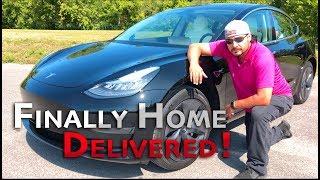 Tesla Model 3 Home Delivery in Ontario. Bye Bye Honda Civc Hello M3 SR+