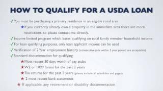 How Do You Qualify for a USDA Loan?