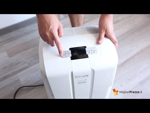 Deumidificatore De'Longhi DDS 30 Combi Video Recensione