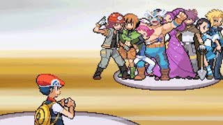 All Gym Battles in Sinnoh!! [Pokemon Diamond]