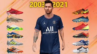 Lionel Messi - New Soccer Cleats & All football boots 2003-2021