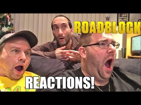 HILARIOUS LIVE REACTIONS WWE ROADBLOCK END OF THE LINE PPV! RESULTS AND REVIEW 12/18/16