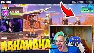Ninja Almost Cries of Laughter Watching