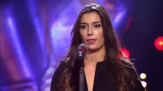 Janna Salhoume zingt 'Hey Ya!' | Blind Audition | The Voice van Vlaanderen | VTM