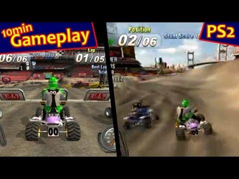 ATV Offroad Fury 3 PlayStation 2 Gameplay - Timing Jumps