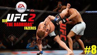 EA SPORTS UFC 2 | #8 | QUE PONTAPÉ MONSTRO !!!