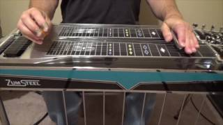 Just Between You And Me Intro | Pedal Steel Guitar Tutorial