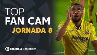 LaLiga Fan Cam Matchday 8: Danjuma, Raúl de Tomás & Lemar