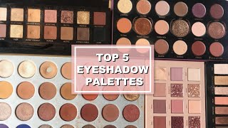 TOP 5 BEST EYESHADOW PALETTES