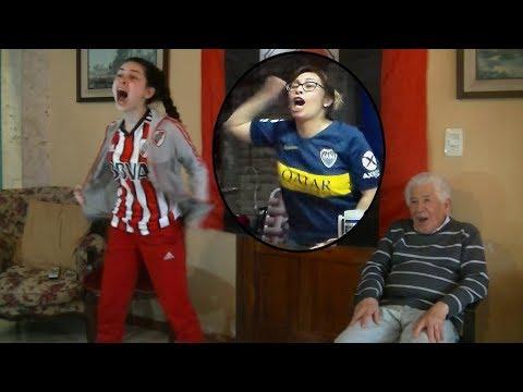 Boca 2 River 2│Final ida Copa Libertadores 2018│Reacción simultánea