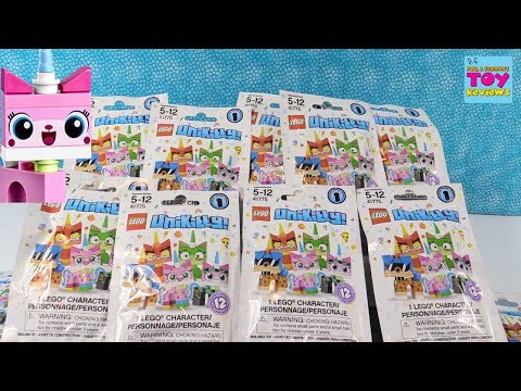 Lego Unikitty Series 1 Minifig Figures Blind Bag Toy Review | PSToyReviews