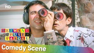 Best Comedy Scenes - Superhit Movie Deewane Huye Paagal - Akshay Kumar - Paresh Rawal - Vijay Raaz