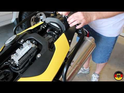 BMW F650GS Accessories Installation