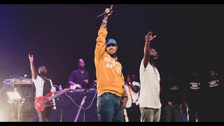 Chris Brown, Davido and The Compozers on stage in LA performing Blow My Mind + More