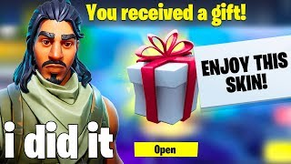 Gifting Skins To Random Fortnite Defaults