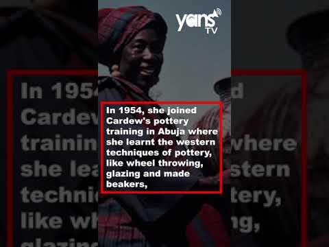 SPOTLIGHT: Meet Ladi Kwali, The Potter Behind N20 Note   YANS TV