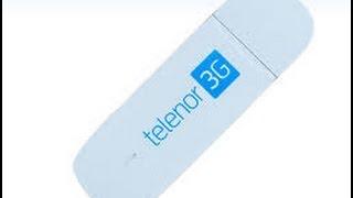 Unlock Telenor 3G Dongle / 3G Connect / 3G cloud