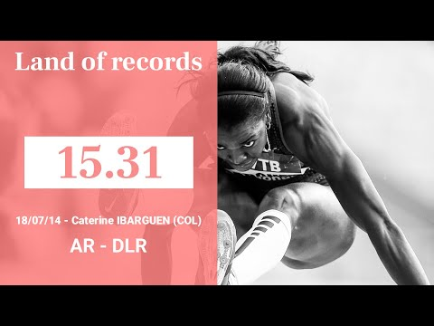Herculis Monaco 2014 - Triple Jump - 15.31 - Caterine IBARGUEN | Land of records