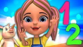 Bam Chiki Bam Bam Hindi Rhyme | Learn Counting In Hindi | हिंदी में गिनती | Little Treehouse India