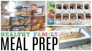 Meal Prep With Me! Healthy Family Meal Prep for the Week