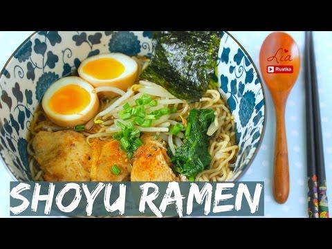 Video Resep dan Cara Buat Ramen Shoyu ala Jepang | LIA RUSTKA