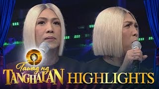 Tawag ng Tanghalan: Vice rants about banks