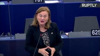 Заседание Европарламента по вопросу «российской пропаганды»