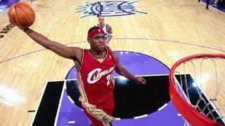 NBA Stars First Career Dunks