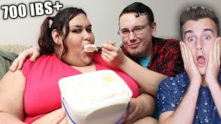 Woman Wants To Be Too Fat To Walk (700 LBS+) - Video Youtube