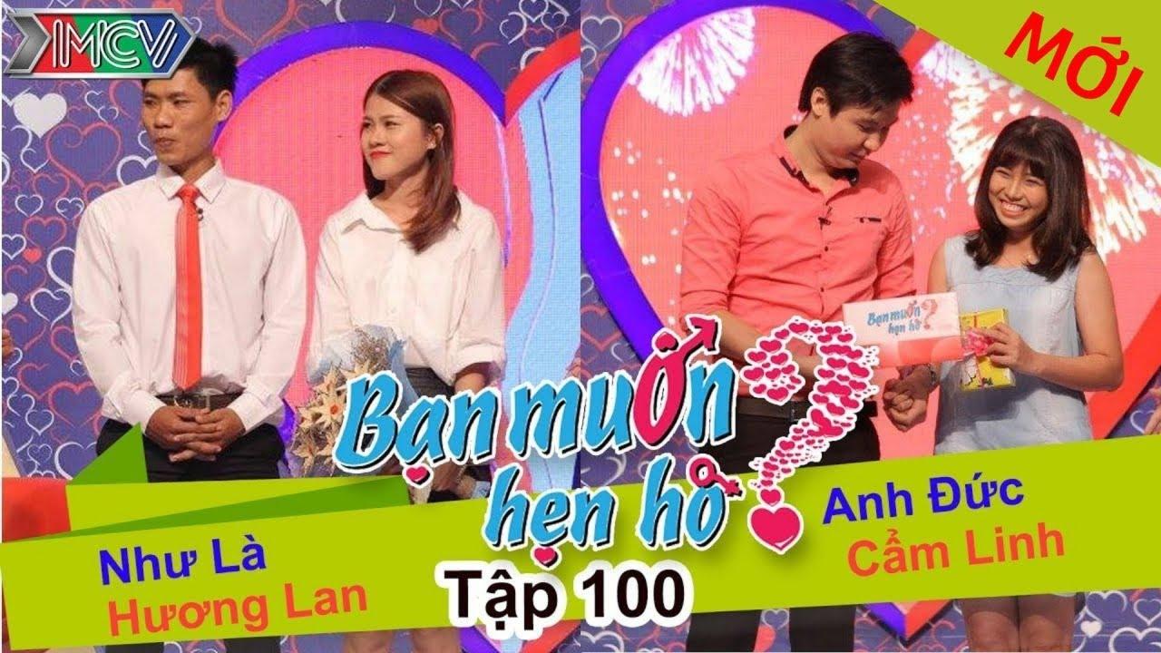 BẠN MUỐN HẸN HÒ #100 UNCUT | Như Là - Hương Lan | Anh Đức - Cẩm Linh | 210915 💖