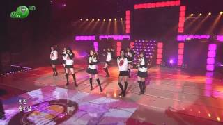 HD SNSD - Ooh La La ! , Dec19.2007 1of2 GIRLS' GENERATION 720p