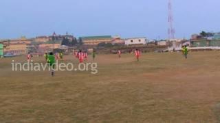 Football match in Sohra, Meghalaya
