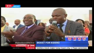 Governor Evans Kidero endorsed for a second term by PAG Church