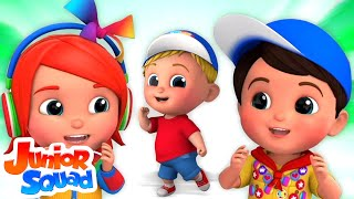 Best Nursery Rhyme Playlist with Lyrics and Action | Kids Songs By Junior Squad