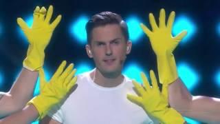 Melodifestivalen 2017 - Din Mamma Jobbar Inte Här (1080p 60fps)