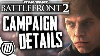 Star Wars Battlefront 2 Campaign Gameplay & Story Details + Exclusive Footage!