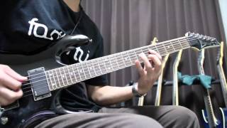 Arch Enemy  Blood On Your Hands   Ibanez RGA42E
