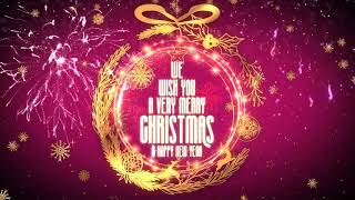 Merry XMAS Greetings Video ll Golden Christmas wishes 2020 and New year wishes 2021 #MerryChristmas