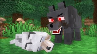 Ocelot & Wolf Life II   Minecraft Animation