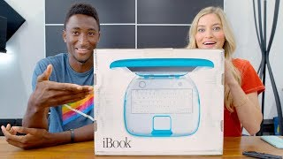 Unboxing a SEALED iBook G3 with MKBHD!
