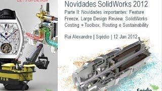Novidades SolidWorks 2012: Parte II