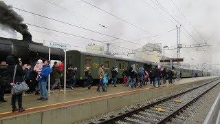 Muzejski vlak z Božičkom v Ljutomeru