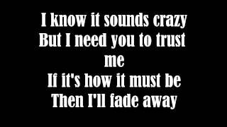 Chester See- Who am I to stand in your way (lyrics)