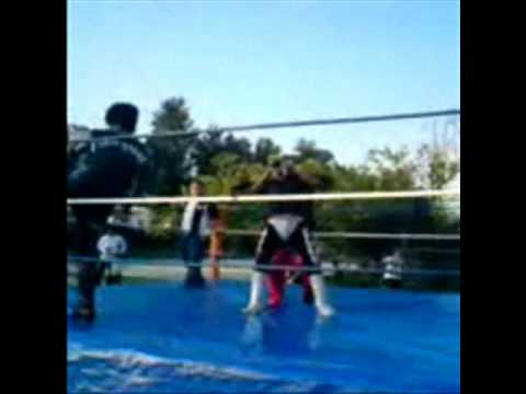 MEXICAN WRESTLER MANOWAR TEME¡¡¡ BURNING TIMES.wmv