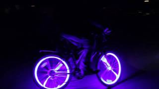 Coolest Thing Ever Crazy Glowing Bikes Glow Candy Bicycle LED Lights